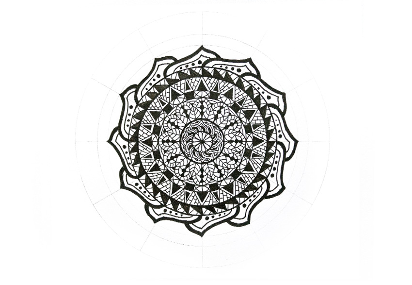 mandala how to keep consistent