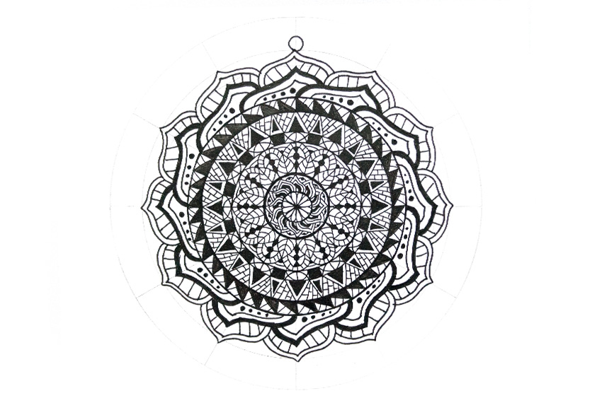 mandala attach circle