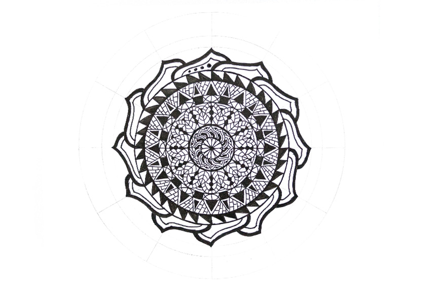 mandala more dots
