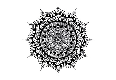 How to draw mandala preview