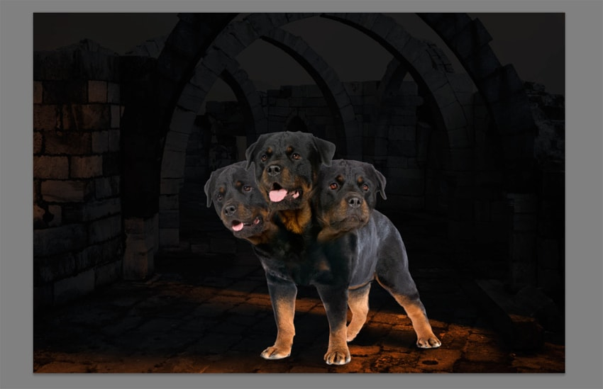 How to Create a Cerberus Photo Manipulation in Adobe Photoshop
