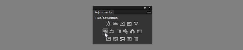 photoshop adjustments panel