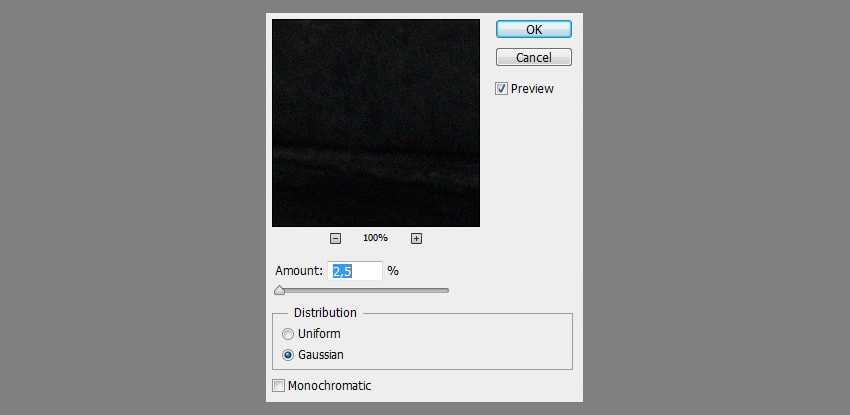 photoshop add noise