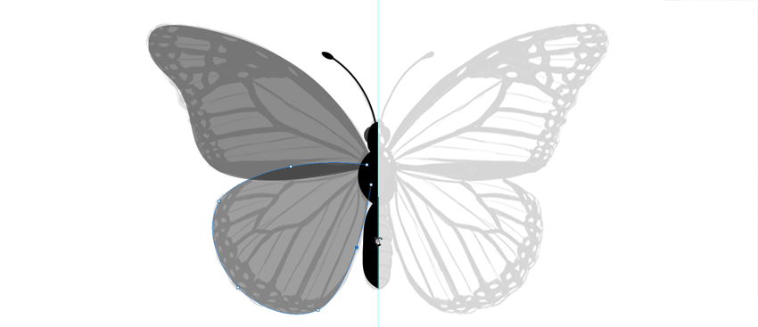 photoshop create vector wings