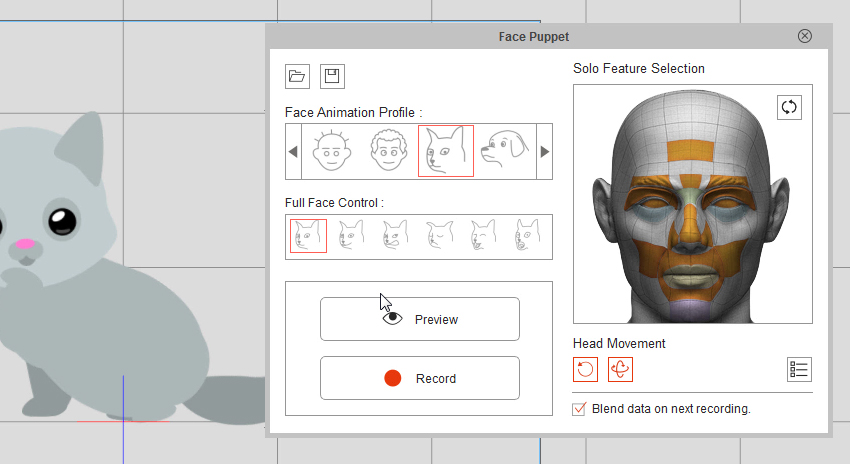 cat face animation profile crazytalk animator