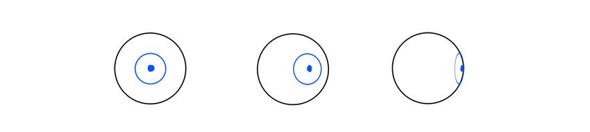 iris pupil rotation