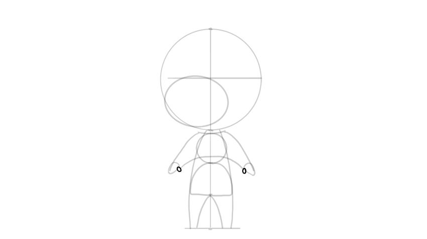 drawing chibi thumbs