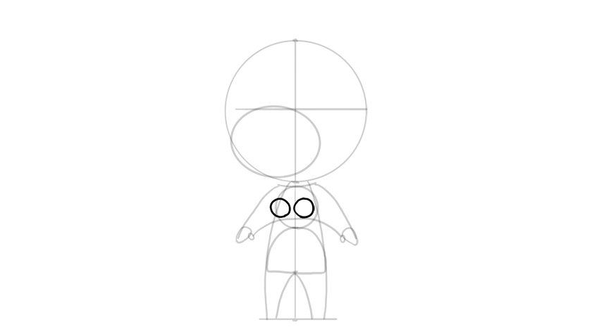 drawing chibi breasts