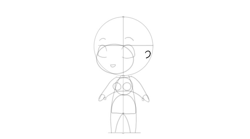 drawing chibi ear