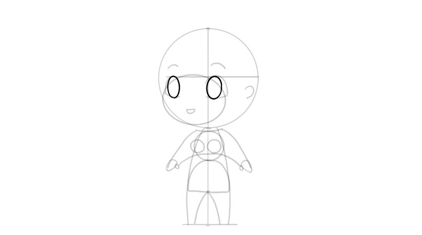 drawing chibi iris