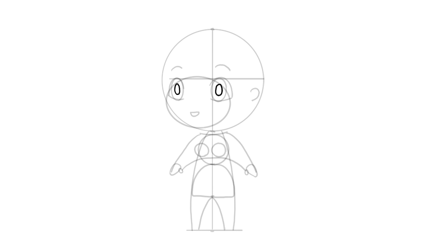 drawing chibi pupil