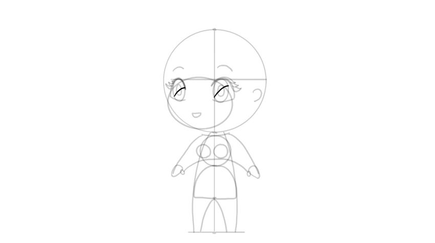 drawing chibi eye shading