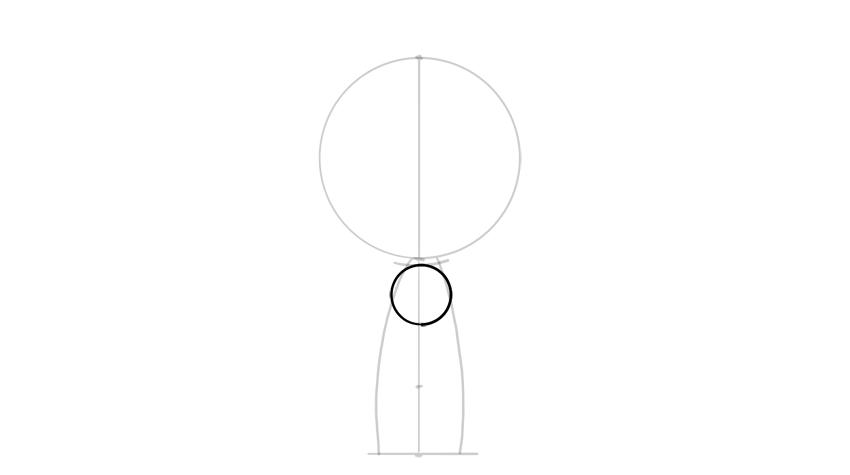 drawing chibi torso