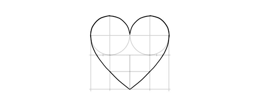 dibujar todo el corazón