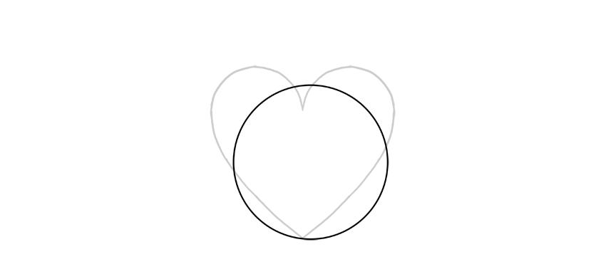 dibuja un círculo enorme