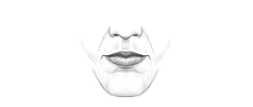 How To Draw Lips And A Mouth