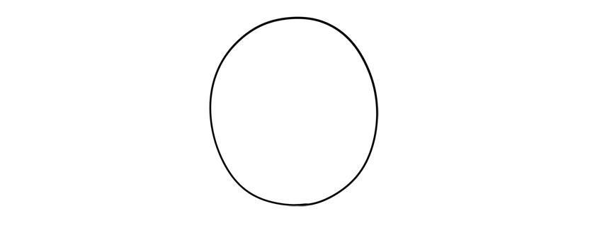 porg oval body