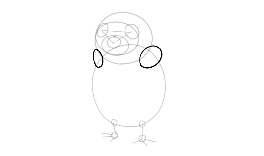porg shoulders