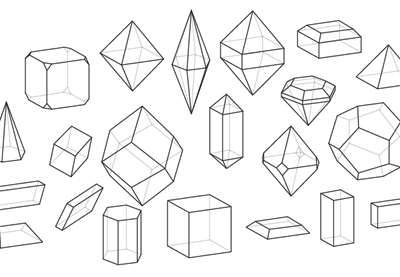 How to draw crystals preview
