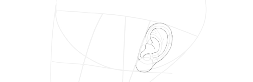 ear side view final lines