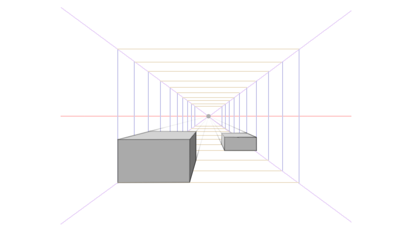 using perspective grids