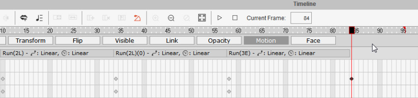 how to add keyframes in cta3
