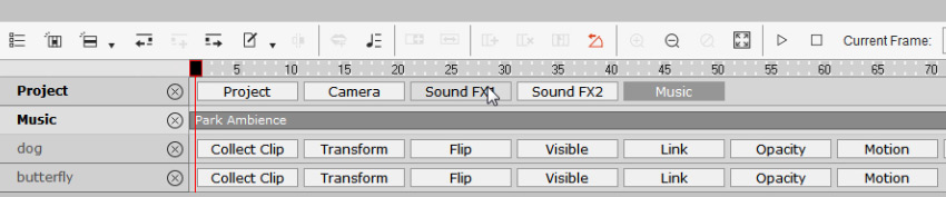 how to add sound effects cta3