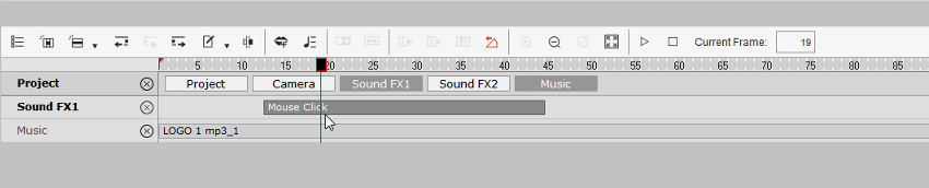 add mouse click sound