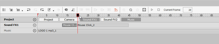 add click sound effect