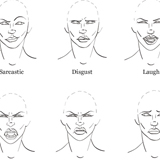 How to Draw Facial Expressions to Show Emotion