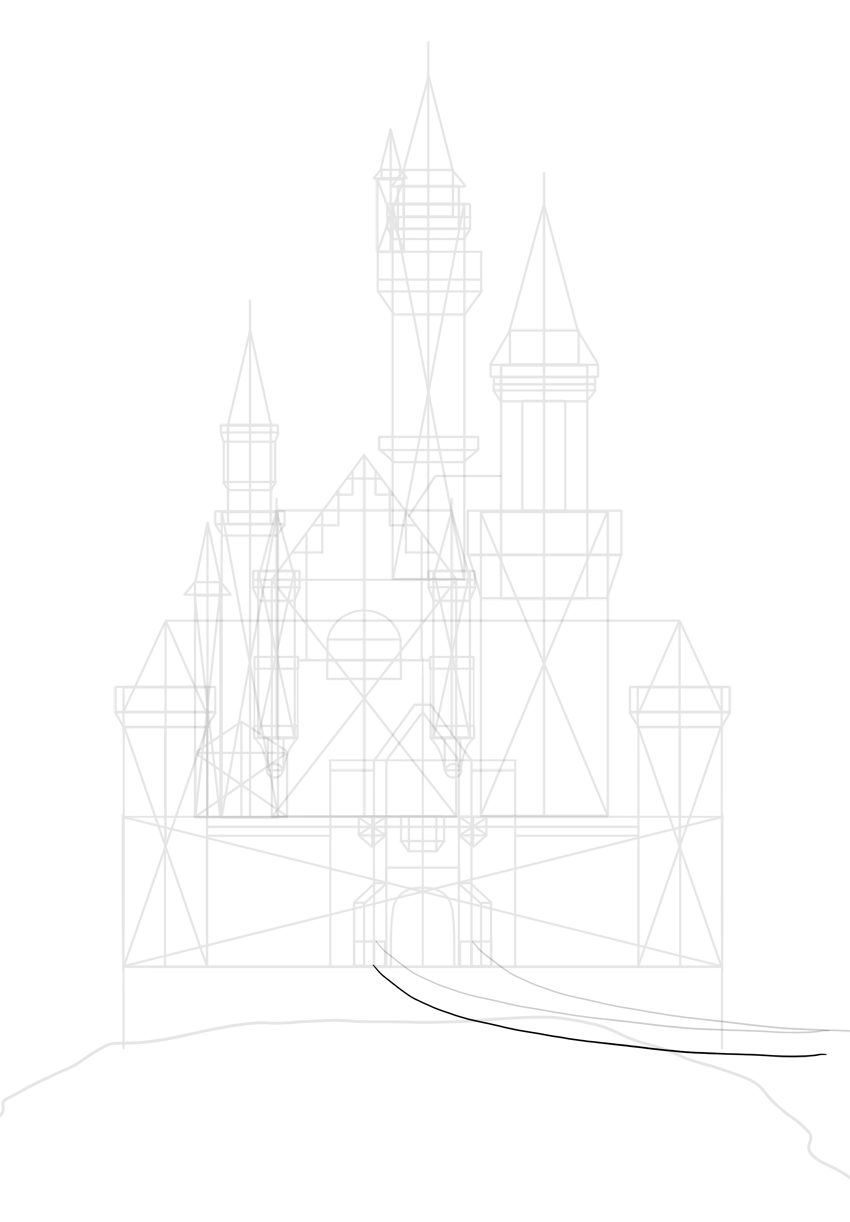 prepare height of stone ballustrade
