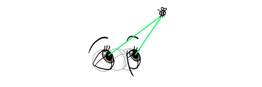how to draw eyes focused