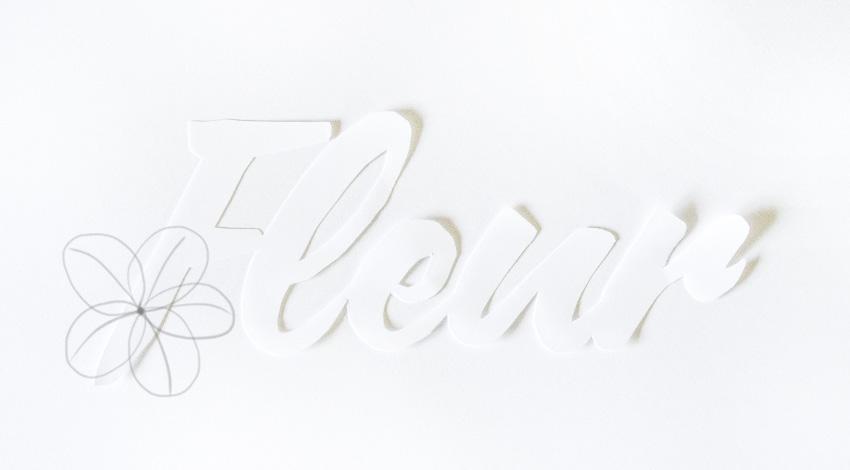 draw sketch of petals