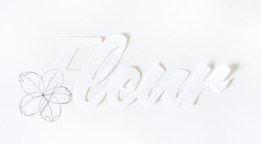 sketch outline of petals