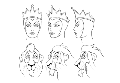 How to draw disney villains preview