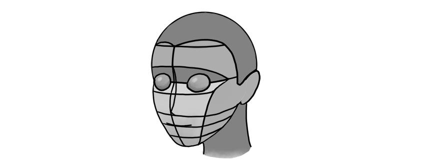 manga neck proportion