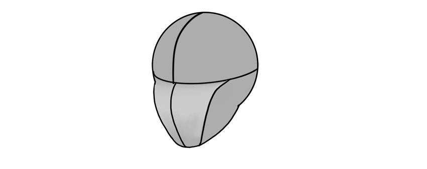 manga lower half of face