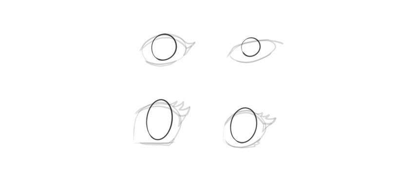 How to draw a head anime