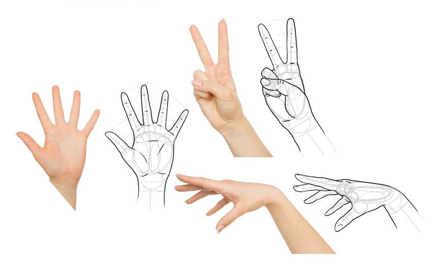 how to draw hands manga anime