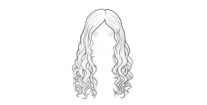 step 16 how to draw female anime female anime