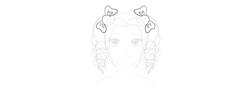 Come Disegnare I Capelli Di Un Anime