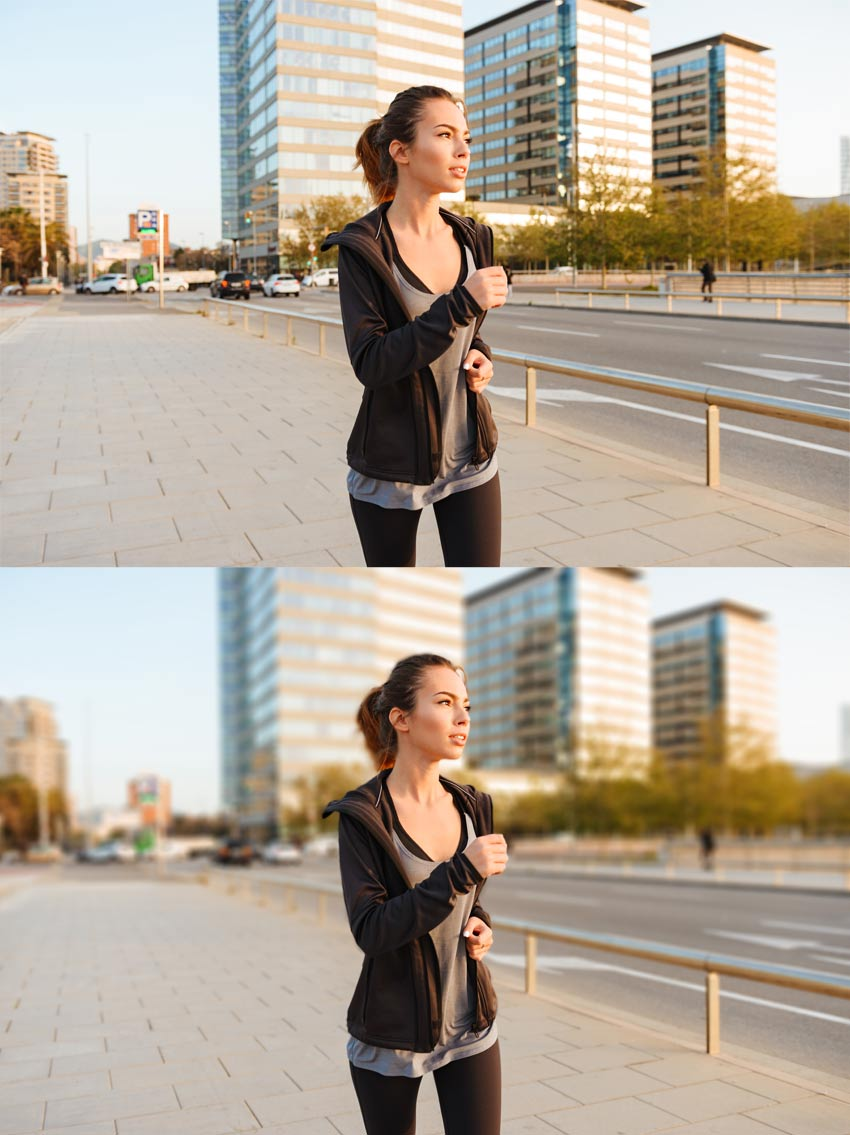 how to add depth of field
