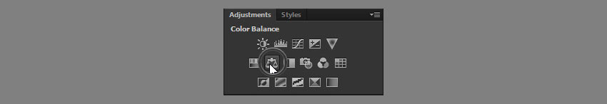 add color balance adjustment