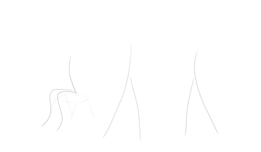 sketch body pose