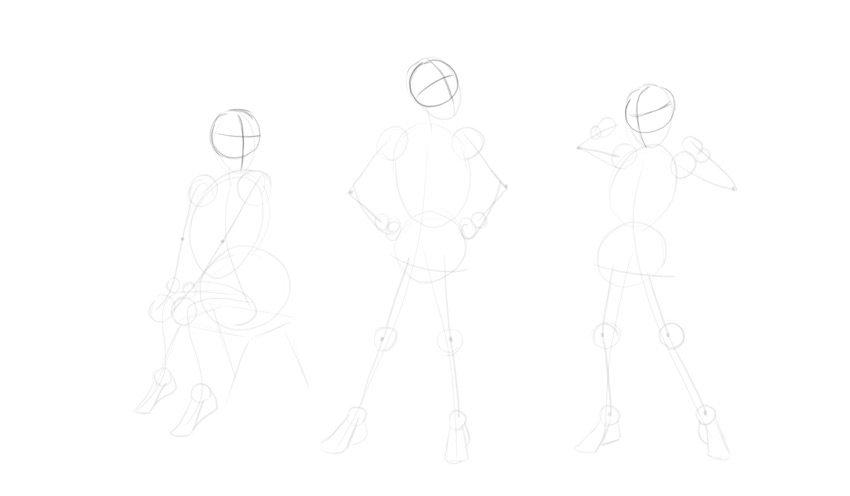 sketch head rotation
