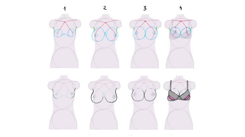 How To Draw Shine On Breast Digital Art