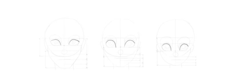 draw upper eyelid