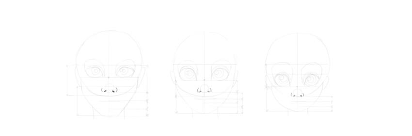 draw cartoon nose