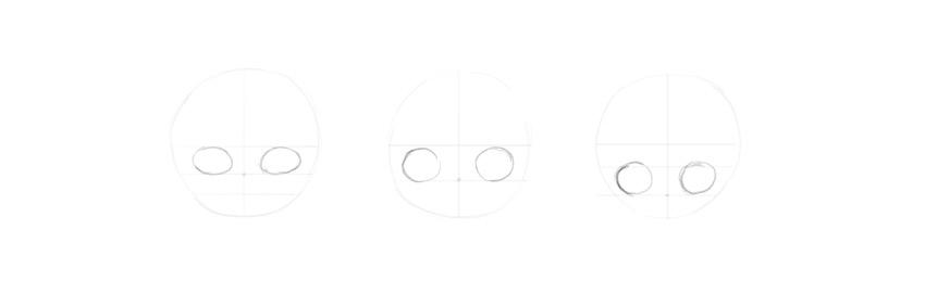 draw eye shape