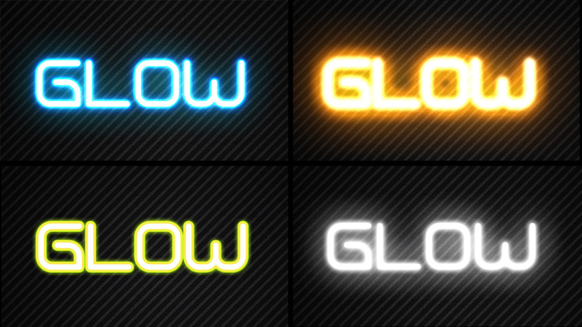 how to add outer glow to layers